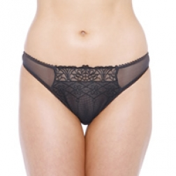 Passionata Jolie Parisienne Thong - Colour: Black