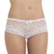 Passionata Passio Cherie Shorty - Colour: White